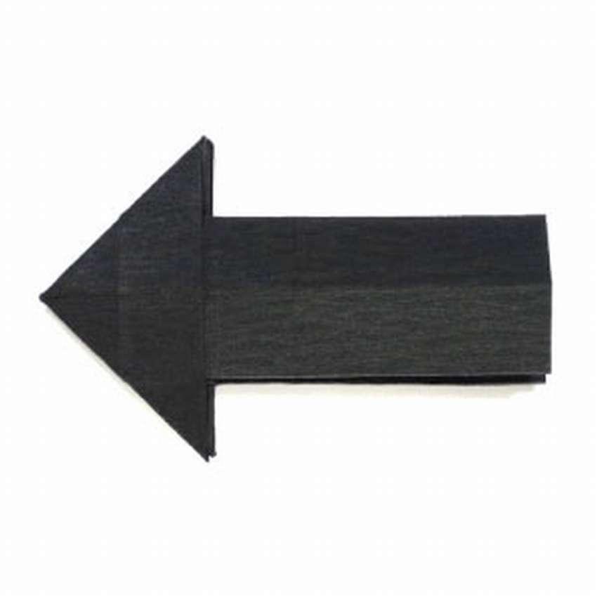 закладка стрелка оригами