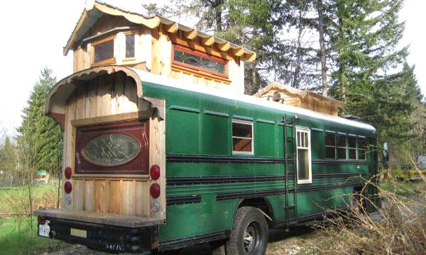 дом автобус