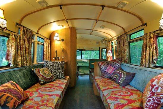 автобус дом на колесах интерьер