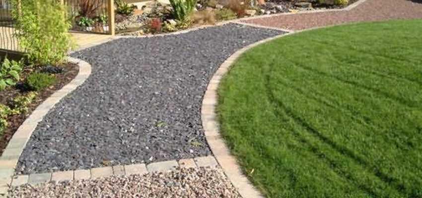 Садовые дорожки из камня своими руками