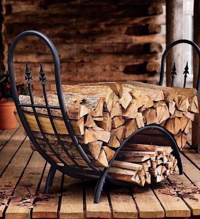 темпа дровница из дерева картинки степь