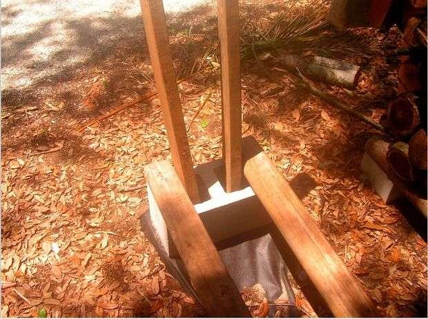 стойка для дров