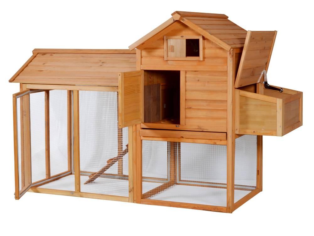 Курятник с выгулом и гнездами на 3-4 курицы