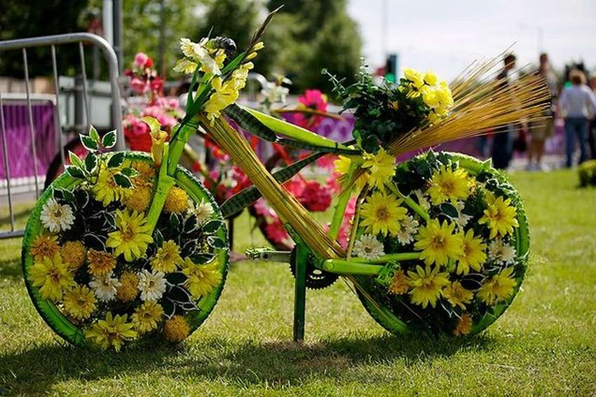 Картинки как украшают велосипед