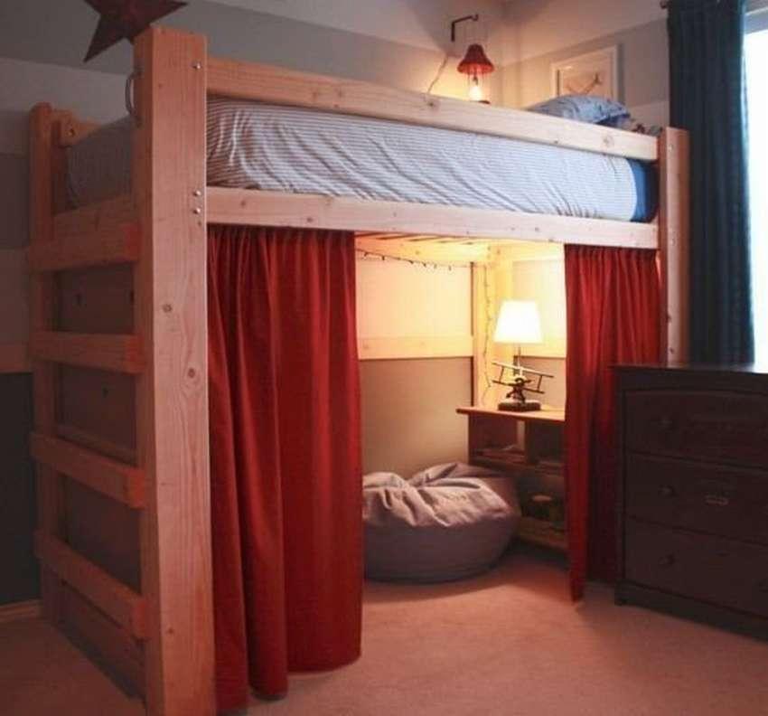 Кровать чердак своими руками с фото