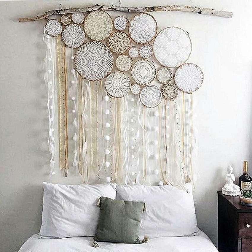 Декор из ткани картинки