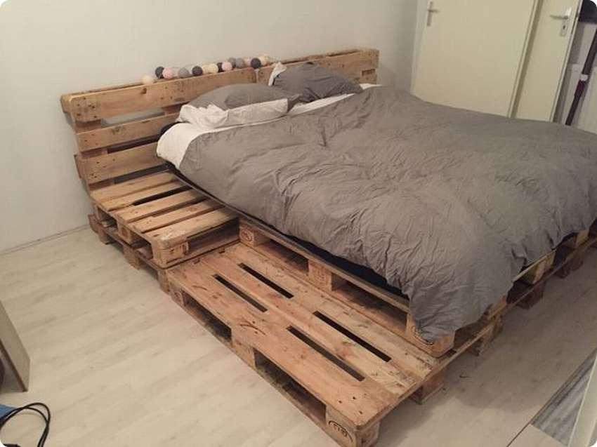 кровати из паллет поддонов фото что после падения