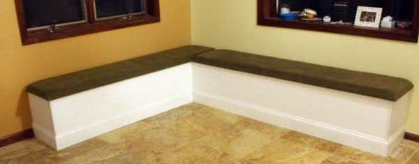 мягкая скамейка на кухню