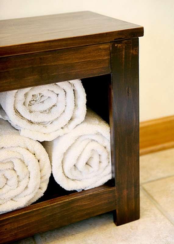 скамейка для ванны деревянная