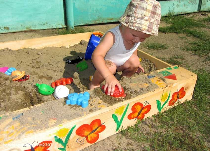 для кухни как разукрасить песочницу фото ситуацию