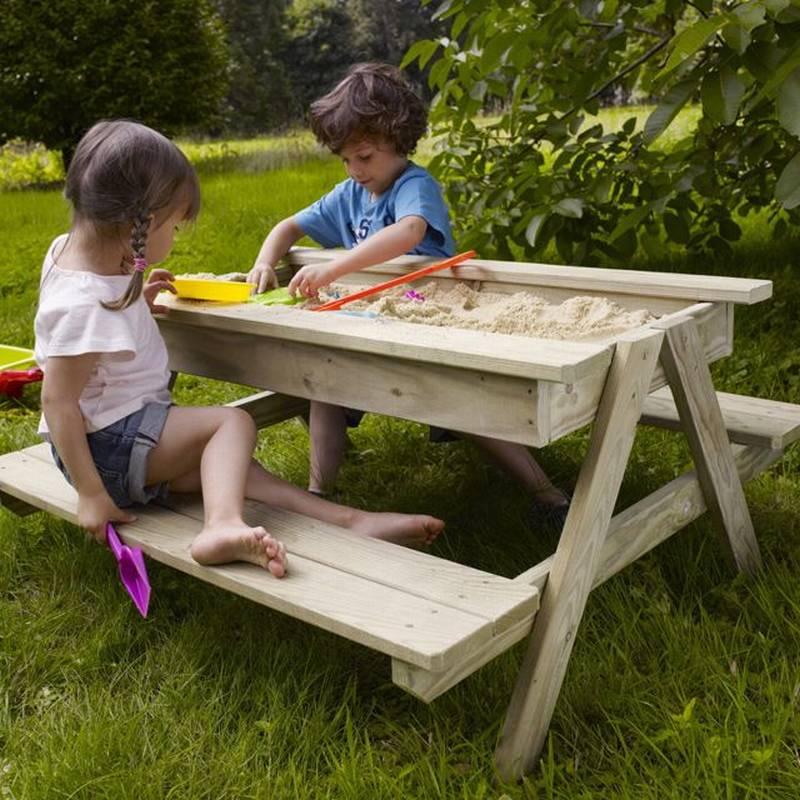 песочница столик для детского сада