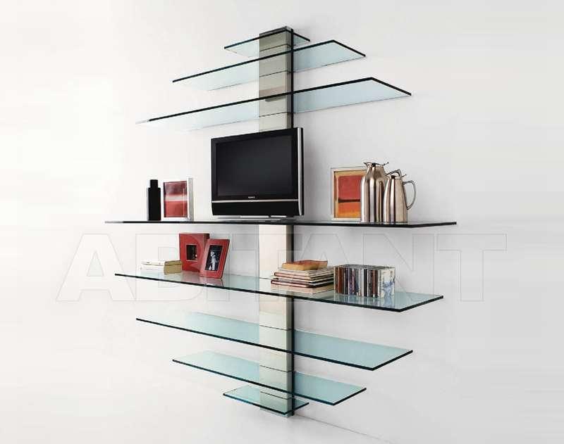 Полка из стекла в стиле модерн