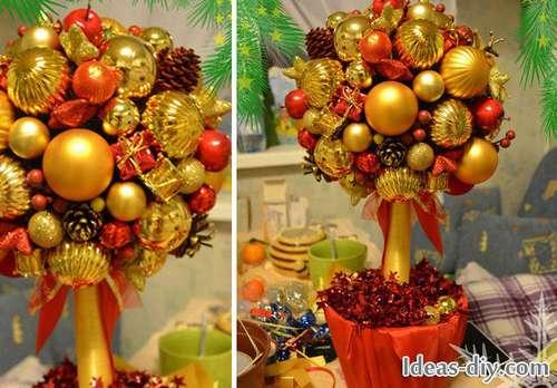Рождественский топиарий