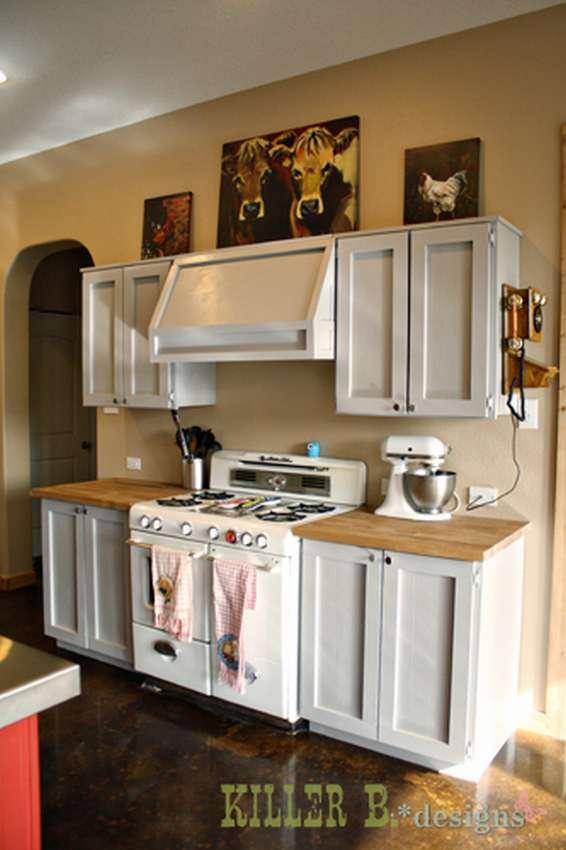настенный кухонный шкаф