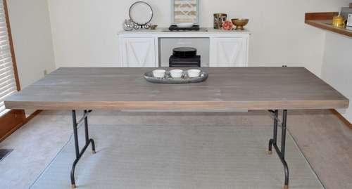 складной обеденный стол своими руками