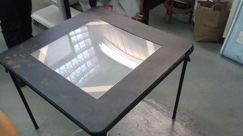 световой складной стол