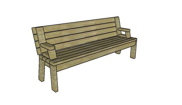 cкладной стол для пикника и скамейка