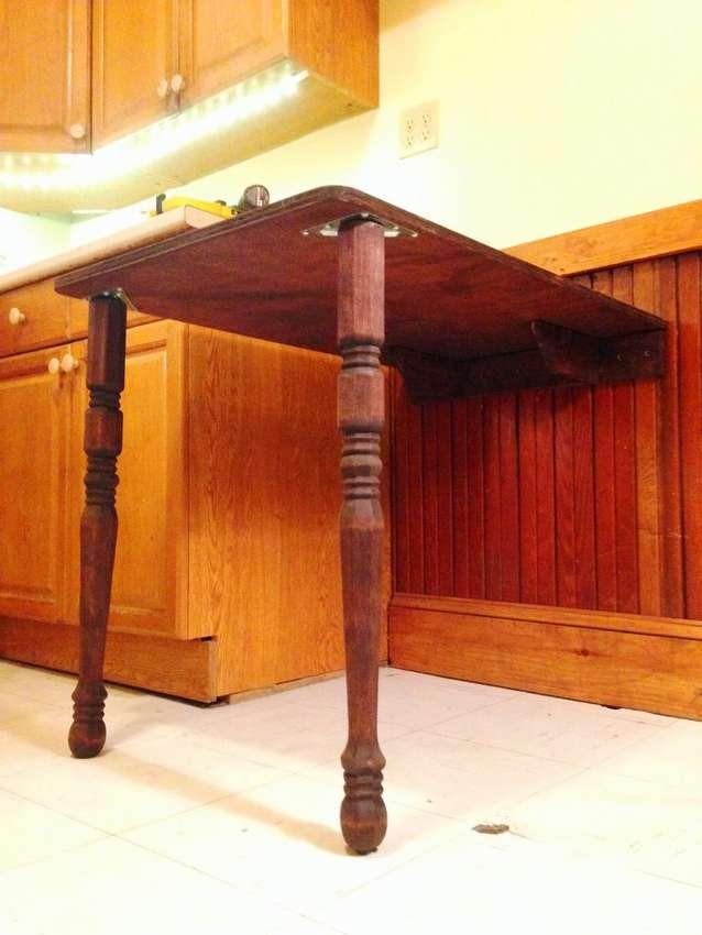 откидной столик на кухню своими руками