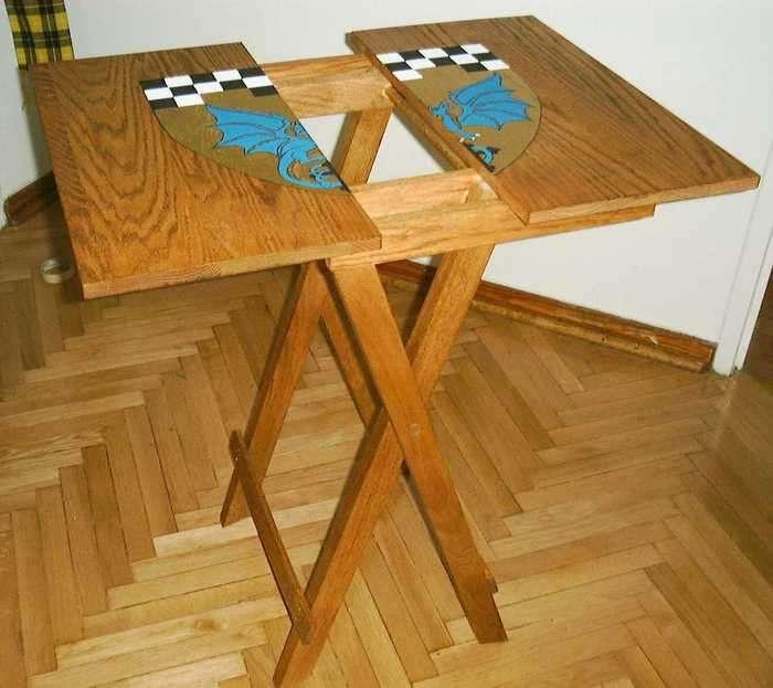 как сделать раскладной столик своими руками фото городок бердянск это
