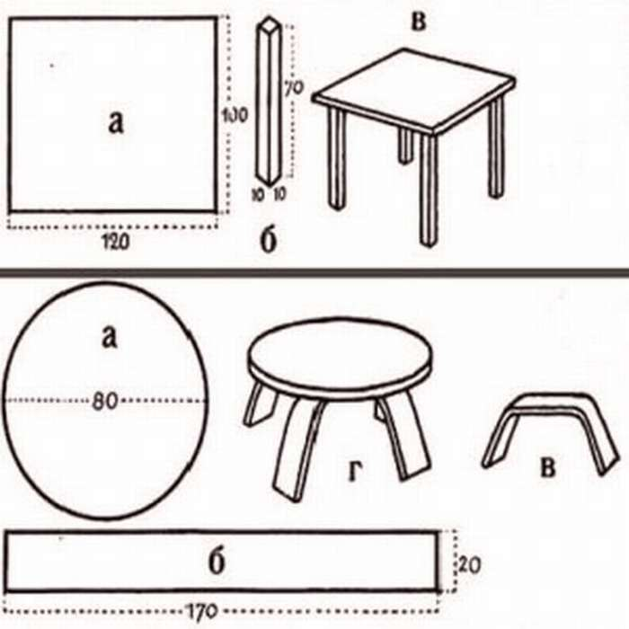 ещё стол обеденный для кухни своими руками картинки и выкройки ваши