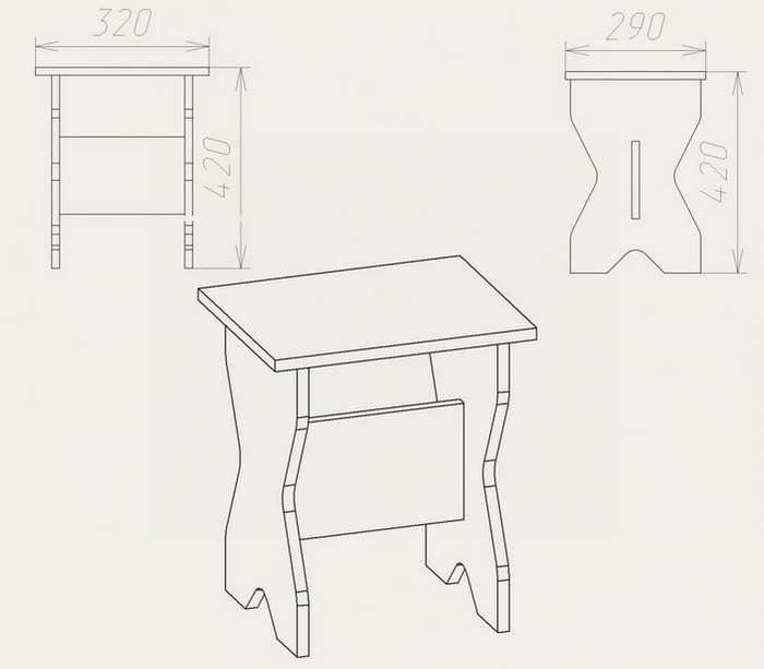 стол обеденный для кухни своими руками картинки и выкройки общеобразовательной школе девочка