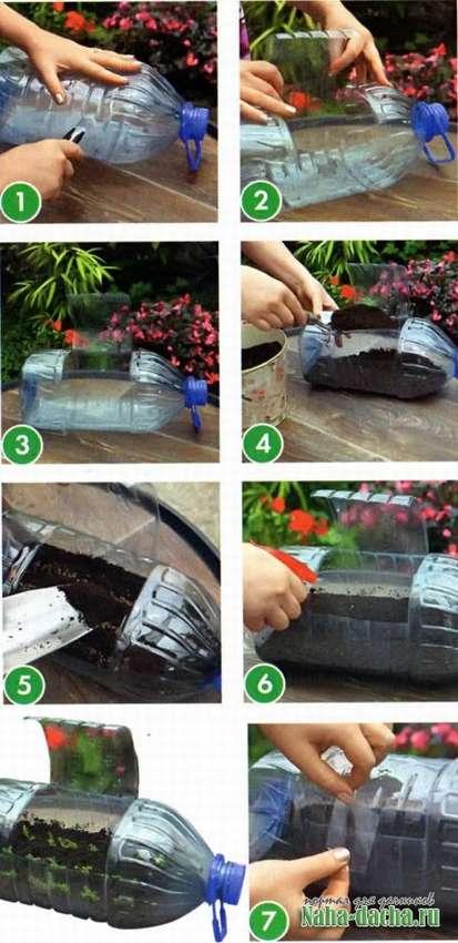 как сделать мини теплицу