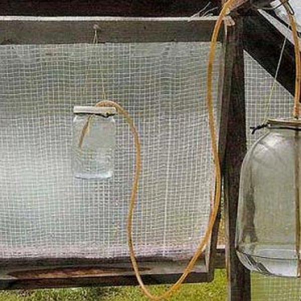 Автоматическое открывание форточки в теплице