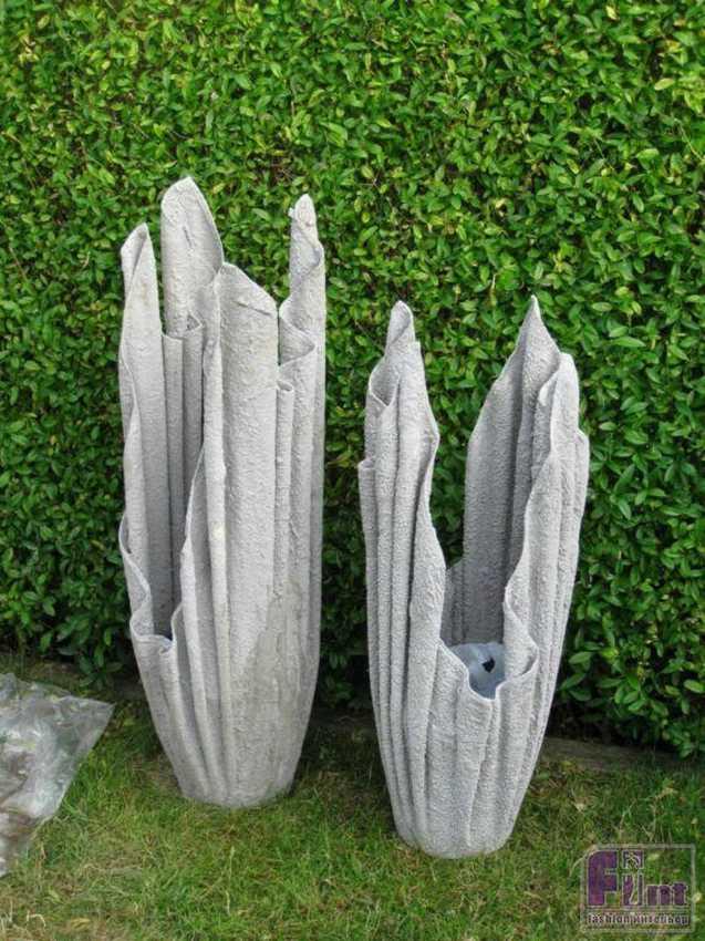 Вазы из цементного раствора своими руками бетонная смесь в22 5