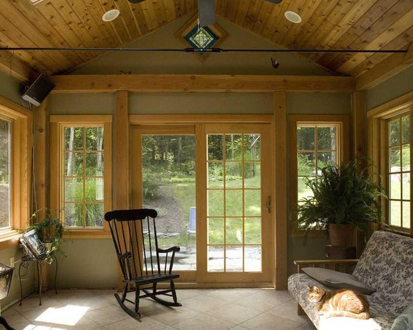 могло отделка террасы внутри фото дом включает себя