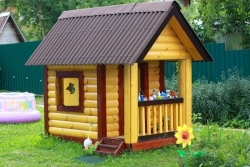Дачный домик своими руками из досок