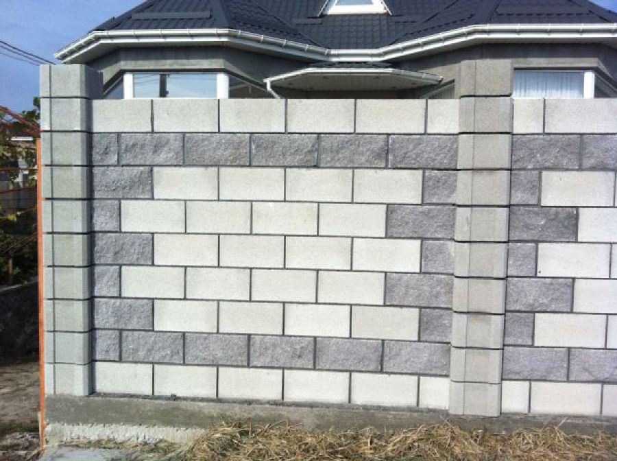 красивая кладка блоков