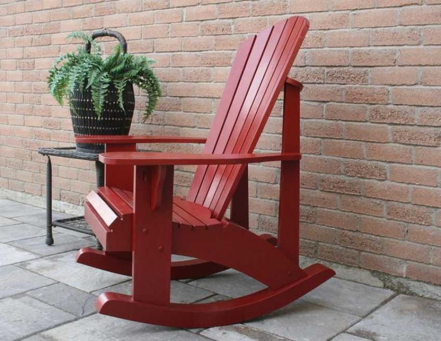 простейшее кресло качалка