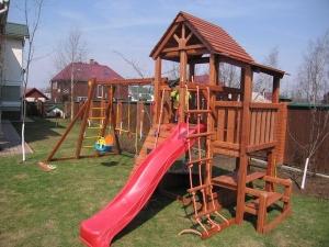 Детская площадка своими руками: 100 фото и идей