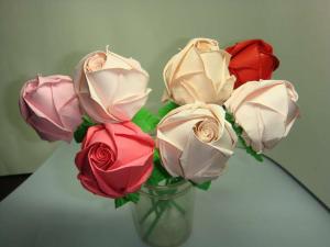 как сделать из бумаги цветок розу