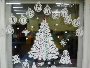 Украшения на окна из бумаги к Новому году 2020. Трафареты и шаблоны новогодних украшений