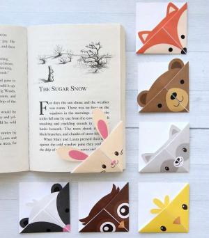 как сделать закладку из бумаги для книги