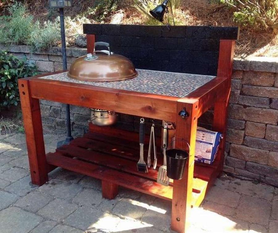 стол для гриля своими руками 700 фото пошаговые инструкции