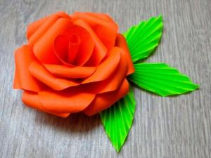 легкие цветы из бумаги своими руками