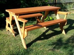 стол скамейка для дачи своими руками