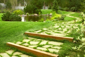 Садовые дорожки своими руками из камня